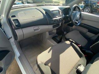 2012 Mitsubishi Triton MN MY12 GL White 5 Speed Manual Cab Chassis.