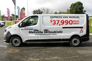 2020 Mitsubishi Express White Manual.