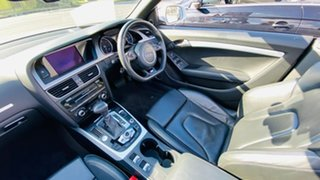 2012 Audi A5 8T MY13 Multitronic White 8 Speed Constant Variable Cabriolet