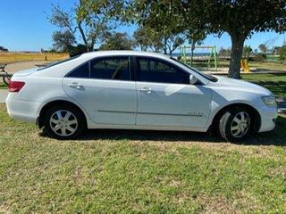 2006 Toyota Aurion GSV40R AT-X White 6 Speed Sports Automatic Sedan.