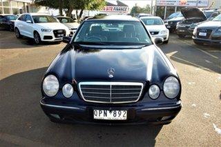 2000 Mercedes-Benz E-Class W210 E320 Elegance Blue 5 Speed Sports Automatic Sedan