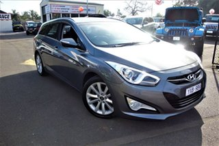 2012 Hyundai i40 VF Active Tourer Grey 6 Speed Sports Automatic Wagon.