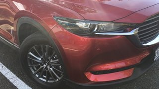 2021 Mazda CX-8 KG2WLA Touring SKYACTIV-Drive FWD Soul Red 6 Speed Sports Automatic Wagon.