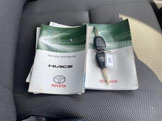2016 Toyota HiAce TRH201R LWB White 5 Speed Manual Van