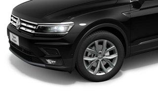 2021 Volkswagen Tiguan 5N MY21 132TSI Comfortline DSG 4MOTION Allspace Black 7 Speed