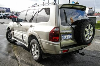 2006 Mitsubishi Pajero NP MY06 Exceed Beige 5 Speed Sports Automatic Wagon.