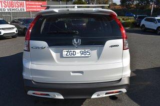 2012 Honda CR-V RM VTi-L 4WD White 5 Speed Automatic Wagon.