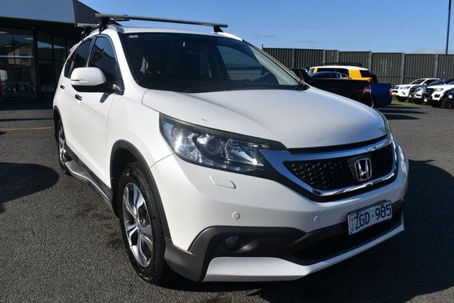 Used Honda CR-V RM VTi-L 4WD Wantirna South, 2012 Honda CR-V RM VTi-L 4WD White 5 Speed Automatic Wagon