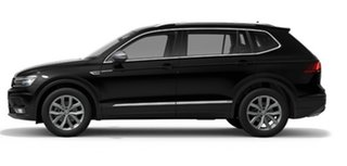2021 Volkswagen Tiguan 5N MY21 132TSI Comfortline DSG 4MOTION Allspace Black 7 Speed.