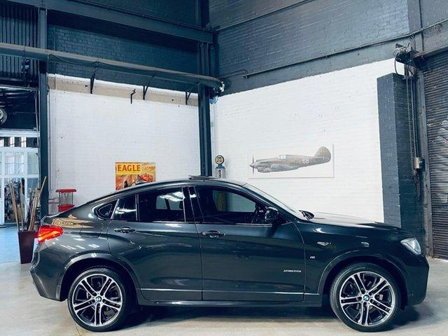 Used BMW X4 F26 xDrive20i Coupe Steptronic Port Melbourne, 2015 BMW X4 F26 xDrive20i Coupe Steptronic Grey 8 Speed Automatic Wagon