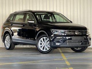 2020 Volkswagen Tiguan 5N MY21 110TSI Comfortline DSG 2WD Allspace Black 6 Speed.