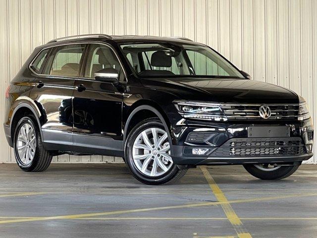 New Volkswagen Tiguan 5N MY21 110TSI Comfortline DSG 2WD Allspace Moorabbin, 2020 Volkswagen Tiguan 5N MY21 110TSI Comfortline DSG 2WD Allspace Black 6 Speed