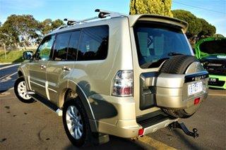 2010 Mitsubishi Pajero NT MY10 Exceed Gold 5 Speed Sports Automatic Wagon