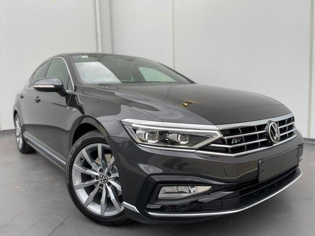 Demo Volkswagen Passat 3C (B8) MY21 162TSI DSG Elegance Liverpool, 2021 Volkswagen Passat 3C (B8) MY21 162TSI DSG Elegance Manganese Grey 6 Speed