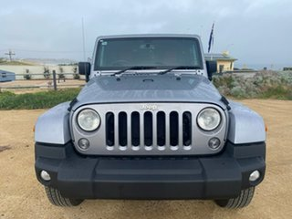 2015 Jeep Wrangler JK MY2015 Overland Silver 5 Speed Automatic Hardtop.