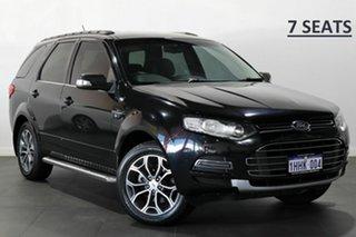 2011 Ford Territory SZ Titanium Seq Sport Shift Black 6 Speed Sports Automatic Wagon.