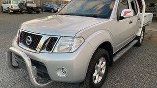 2012 Nissan Navara D40 MY13 ST-X 550 (4x4) Silver Automatic Dual Cab.
