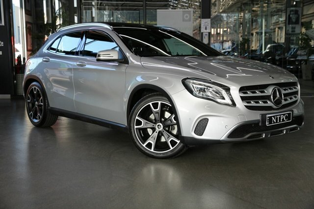 Used Mercedes-Benz GLA-Class X156 807MY GLA250 DCT 4MATIC North Melbourne, 2017 Mercedes-Benz GLA-Class X156 807MY GLA250 DCT 4MATIC Silver 7 Speed