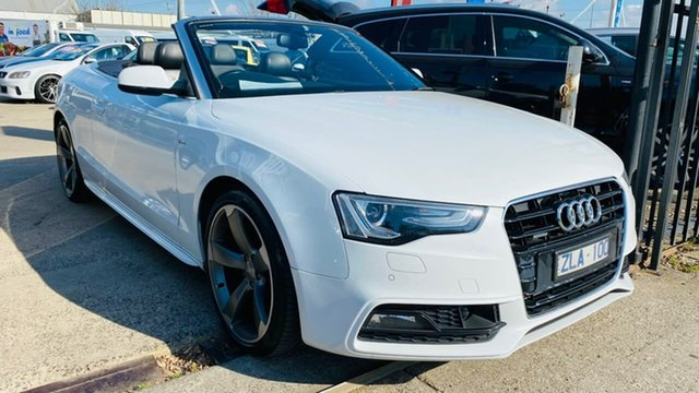 Used Audi A5 8T MY13 Multitronic Maidstone, 2012 Audi A5 8T MY13 Multitronic White 8 Speed Constant Variable Cabriolet