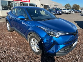 2018 Toyota C-HR NGX10R S-CVT 2WD Blue 7 Speed Constant Variable Wagon.