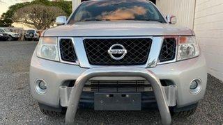 2012 Nissan Navara D40 MY13 ST-X 550 (4x4) Silver Automatic Dual Cab