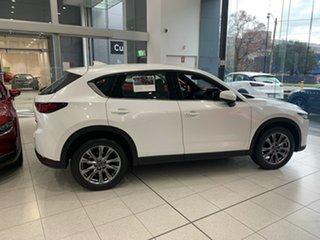 2021 Mazda CX-5 KF4W2A Akera SKYACTIV-Drive i-ACTIV AWD Snowflake White 6 Speed Sports Automatic.
