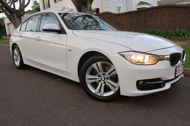 Used BMW 3 Series F30 MY0813 320i Prospect, 2013 BMW 3 Series F30 MY0813 320i White 8 Speed Sports Automatic Sedan