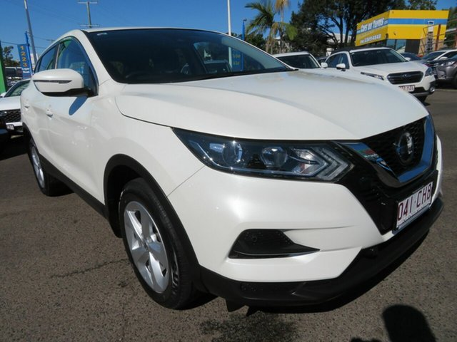 Used Nissan Qashqai J11 Series 2 ST X-tronic Mount Gravatt, 2019 Nissan Qashqai J11 Series 2 ST X-tronic White 1 Speed Constant Variable Wagon