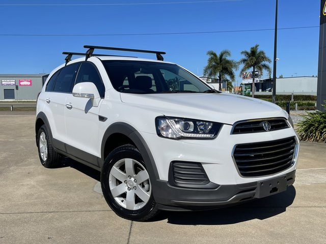 Used Holden Captiva CG MY16 LS 2WD Townsville, 2016 Holden Captiva CG MY16 LS 2WD White 6 Speed Sports Automatic Wagon
