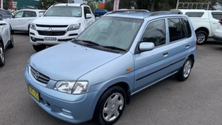 2000 Mazda 121 DW1031 Shades Metro Blue 3 Speed Automatic Hatchback.