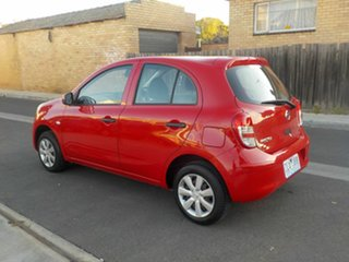 2012 Nissan Micra K13 ST Red 4 Speed Automatic Hatchback