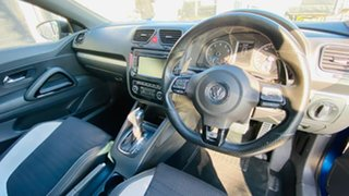 2012 Volkswagen Scirocco 1S MY12 R Coupe DSG Blue 6 Speed Sports Automatic Dual Clutch Hatchback