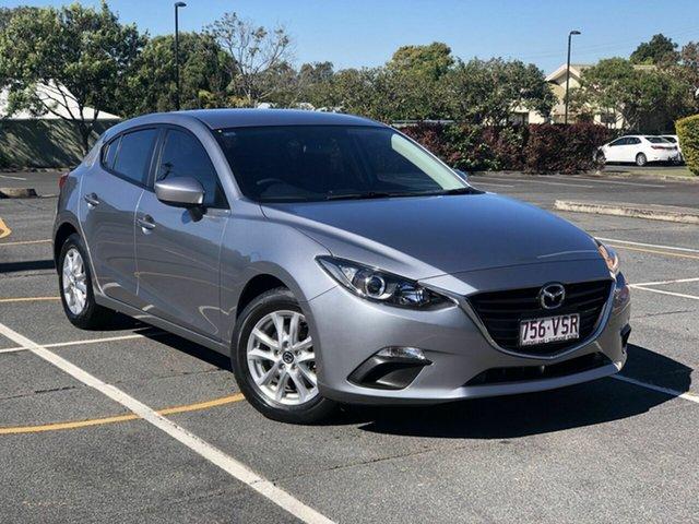 Used Mazda 3 BM5478 Neo SKYACTIV-Drive Chermside, 2015 Mazda 3 BM5478 Neo SKYACTIV-Drive Silver 6 Speed Sports Automatic Hatchback