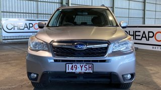 2013 Subaru Forester S4 MY14 2.5i Lineartronic AWD Silver 6 Speed Constant Variable Wagon