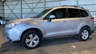 2013 Subaru Forester S4 MY14 2.5i Lineartronic AWD Silver 6 Speed Constant Variable Wagon.