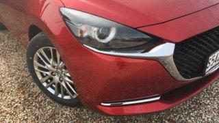 2021 Mazda 2 DJ2HAA G15 SKYACTIV-Drive GT Soul Red 6 Speed Sports Automatic Hatchback.