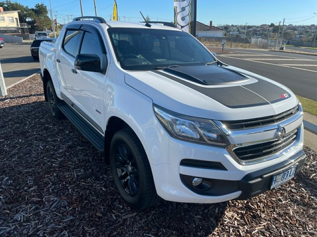 Used Holden Colorado RG MY18 Z71 Pickup Crew Cab Devonport, 2018 Holden Colorado RG MY18 Z71 Pickup Crew Cab White 6 Speed Sports Automatic Utility