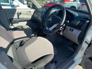 2012 Mitsubishi Triton MN MY12 GL White 5 Speed Manual Cab Chassis