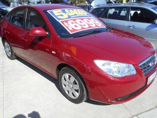 2007 Hyundai Elantra HD SLX Red 5 Speed Manual Sedan.