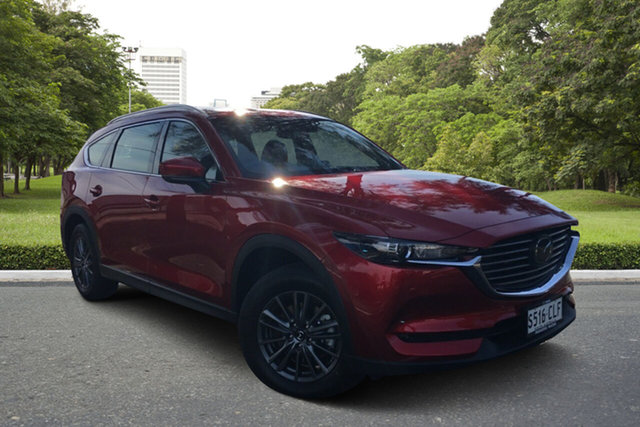 Demo Mazda CX-8 KG2WLA Touring SKYACTIV-Drive FWD Paradise, 2021 Mazda CX-8 KG2WLA Touring SKYACTIV-Drive FWD Soul Red 6 Speed Sports Automatic Wagon
