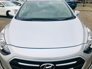 2017 Hyundai i30 GD4 Series II MY17 Active Silver, Chrome 6 Speed Sports Automatic Hatchback