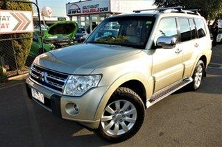 2010 Mitsubishi Pajero NT MY10 Exceed Gold 5 Speed Sports Automatic Wagon.