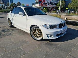2011 BMW 1 Series E82 LCI MY11 120i Steptronic White 6 Speed Sports Automatic Coupe