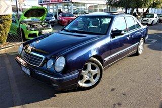 2000 Mercedes-Benz E-Class W210 E320 Elegance Blue 5 Speed Sports Automatic Sedan.