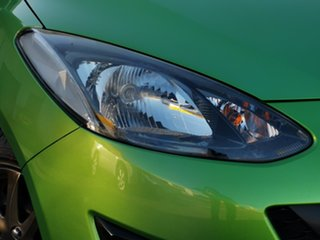 2010 Mazda 2 DE10Y1 Neo Green 4 Speed Automatic Hatchback.