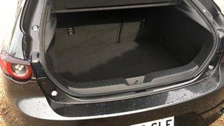 2021 Mazda 3 BP2H7A G20 SKYACTIV-Drive Pure Machine Grey 6 Speed Sports Automatic Hatchback