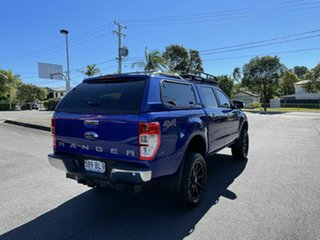 2016 Ford Ranger PXII XLT Blue 6 Speed Automatic Double Cab