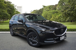 2021 Mazda CX-5 KF4WLA Maxx SKYACTIV-Drive i-ACTIV AWD Jet Black 6 Speed Sports Automatic Wagon.