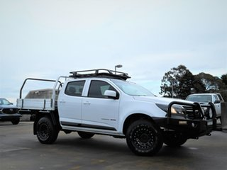 2017 Holden Colorado RG MY17 LS Crew Cab White 6 Speed Manual Cab Chassis