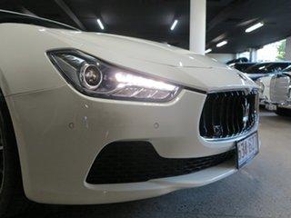 2017 Maserati Ghibli M157 MY17 White 8 Speed Sports Automatic Sedan.